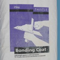 British Gypsum Thistle Bonding Coat Undercoat Plaster - 25kg