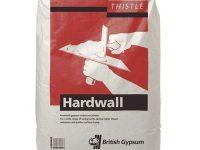 British Gypsum Thistle Hardwall Undercoat Plaster - 25kg